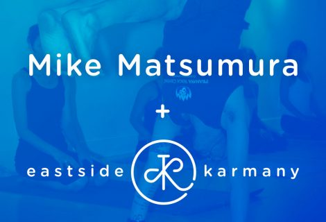 """OCT 26: """"Om, Om Baby"""" with Mike Matsumura"""