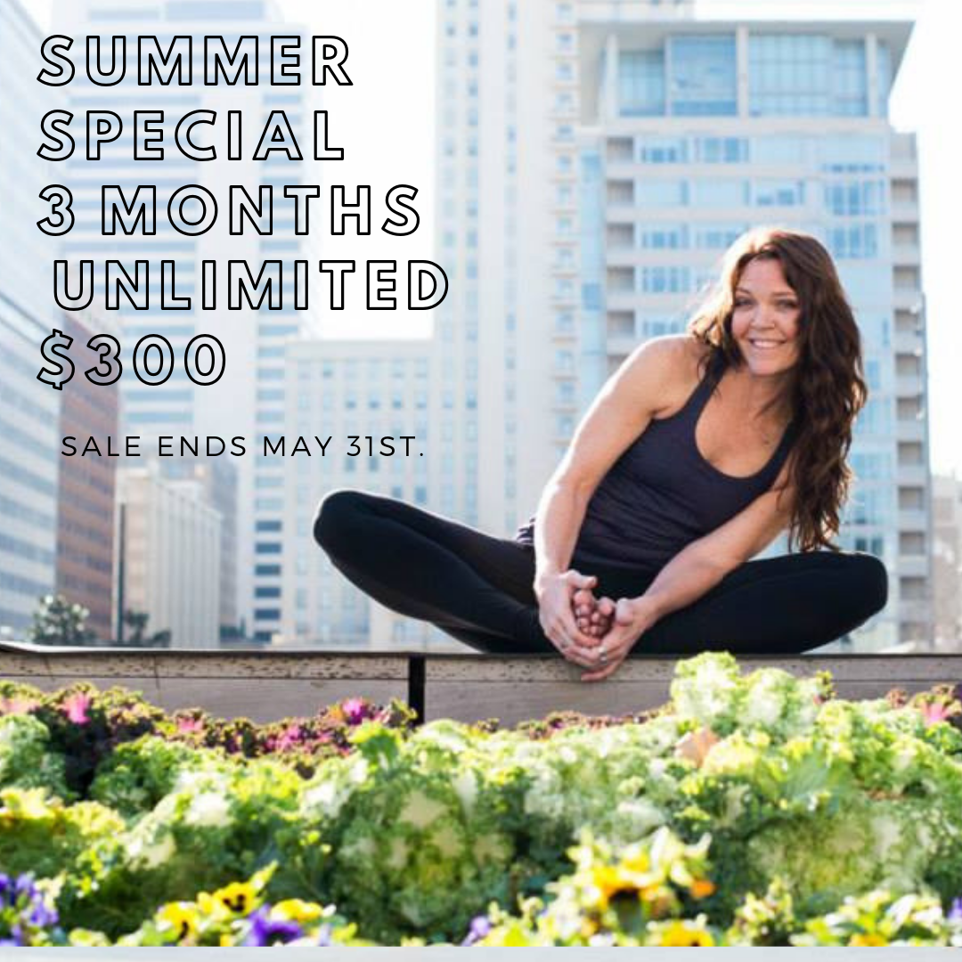 Summer Special – 3 Months Unlimited for $300
