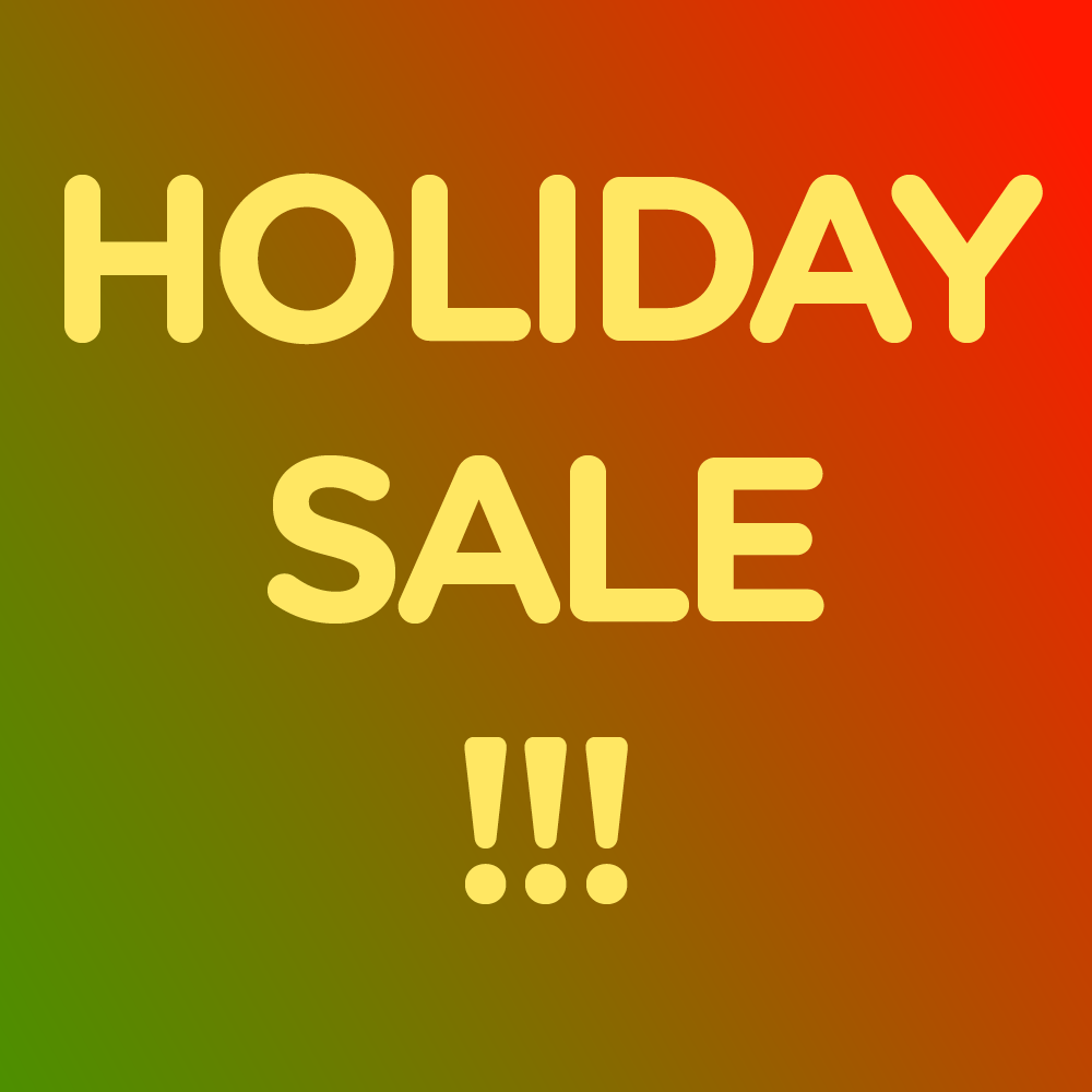 Holiday Sale 10% off Packs!