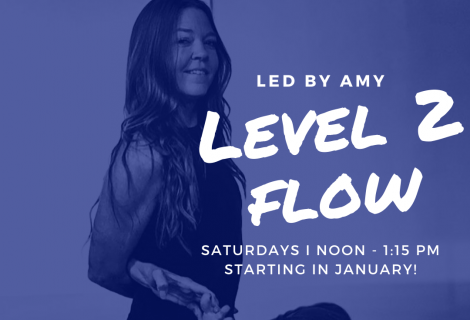 Starting JAN 4th: Level 2 Flow with Amy